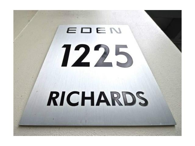 The Eden   --   1225 RICHARDS ST - Vancouver West/Downtown VW #1