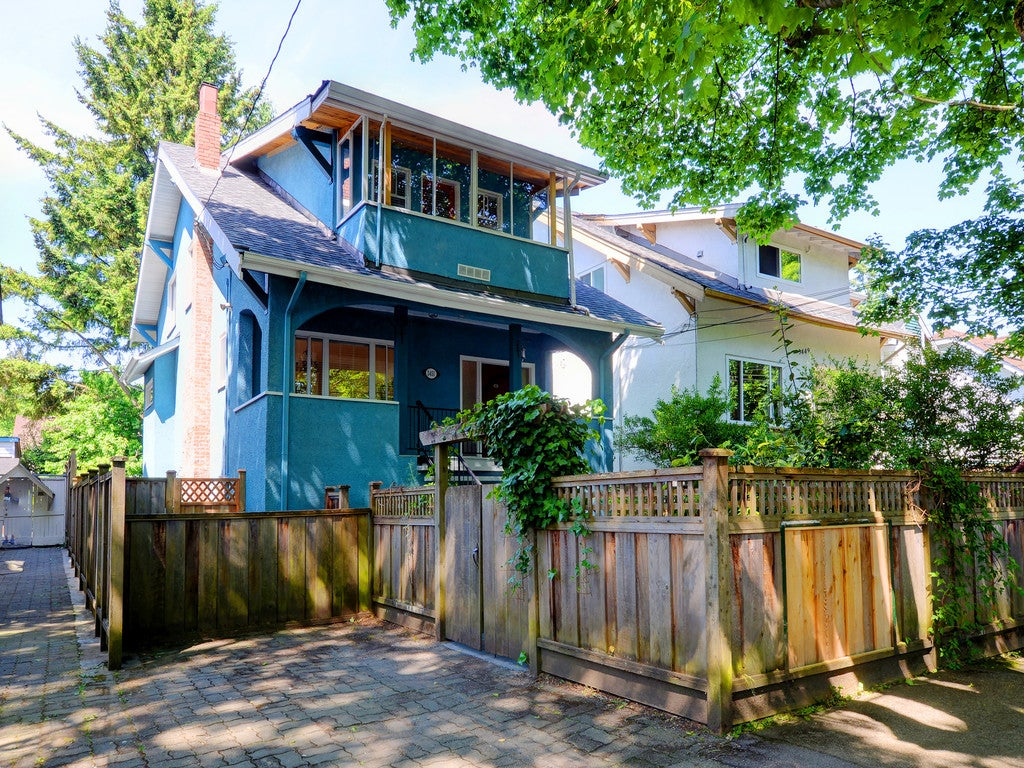 3451 W 6TH AVENUE VANCOUVER - Kitsilano House/Single Family for sale, 4 Bedrooms (R2069967) #1